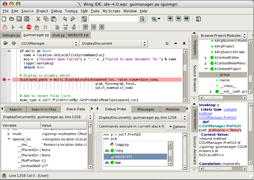Wing IDE Personal 7.2.0.1 full