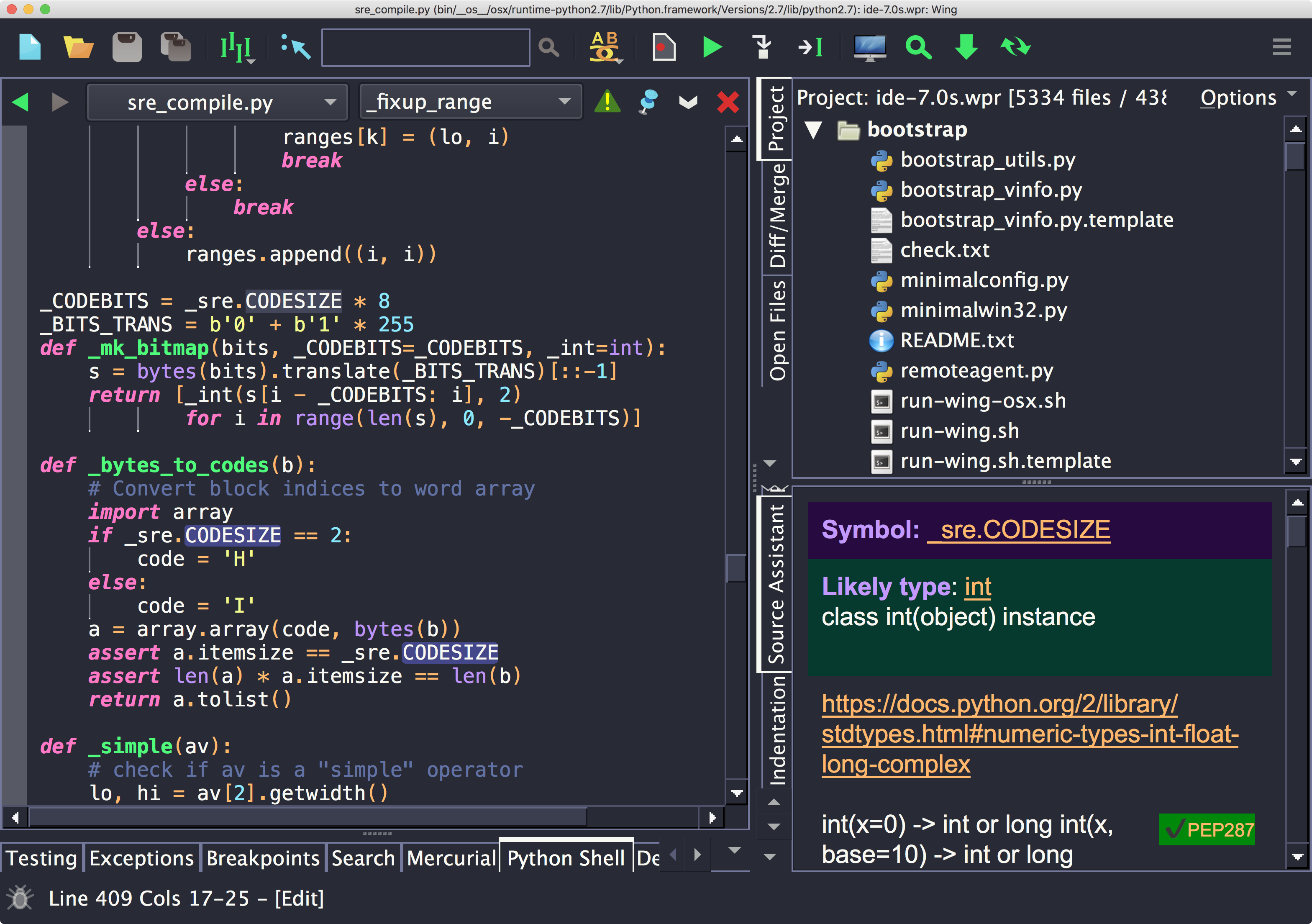 Wing Python IDE 7 0 0 6 Early Access - Wing Python IDE
