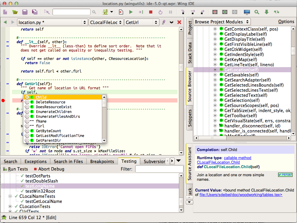 Wing IDE 5 1: January 22, 2015 - Wing Python IDE